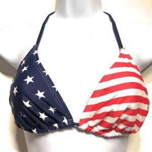 Ingear American Flag Triangle Top